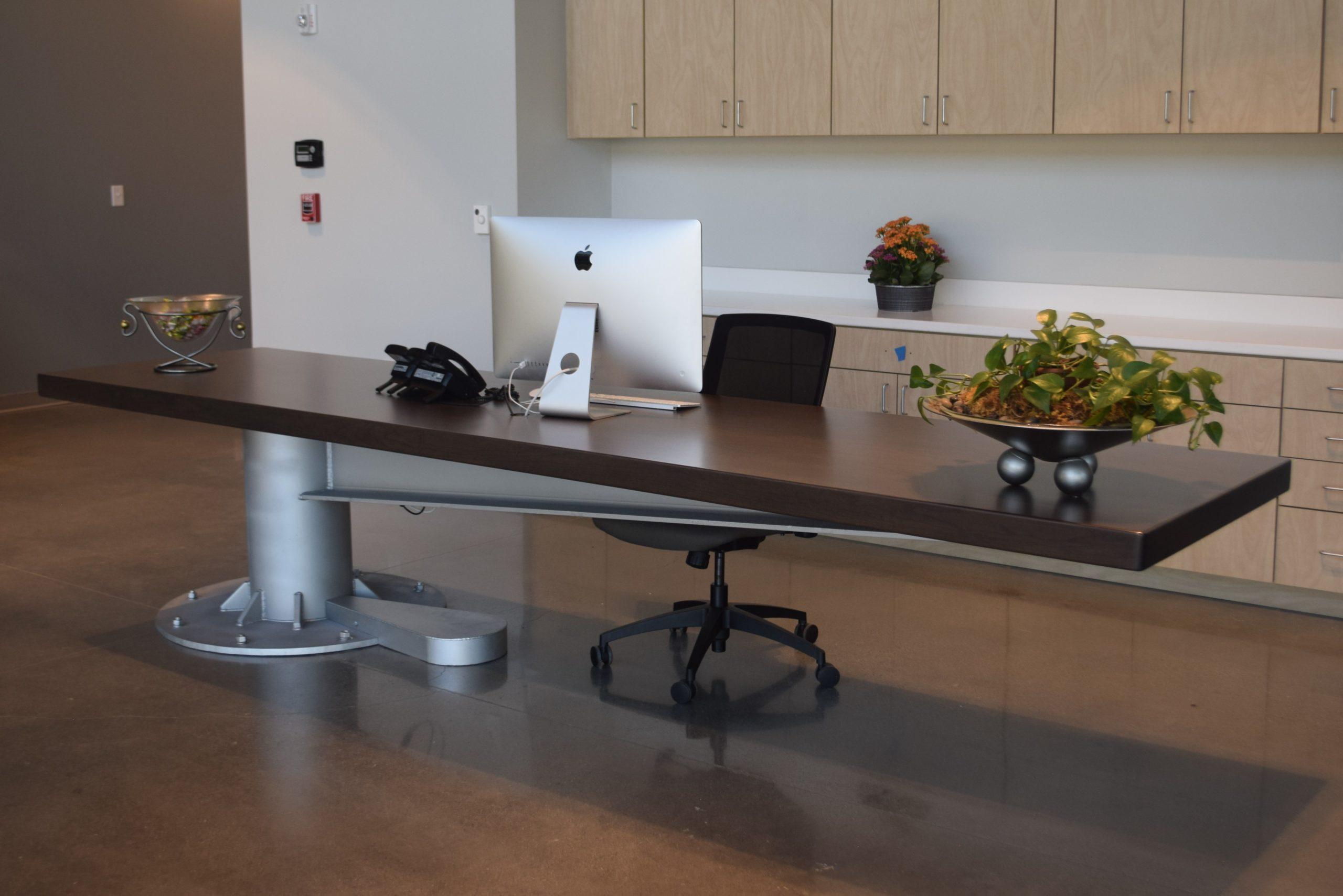 reception desk portfolio